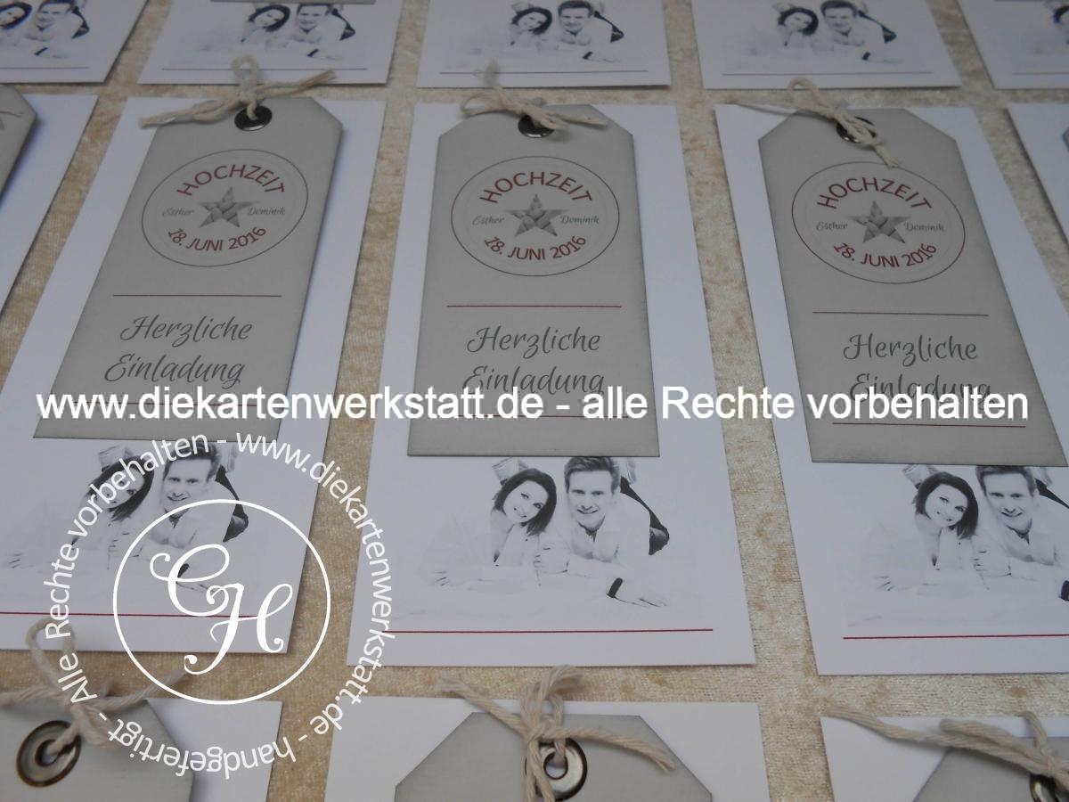 Hochzeitseinladungen - Die Kartenwerkstatt - aus Liebe zum Papier