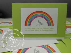 einladung kommunion regenbogen – askceleste, Einladungsentwurf