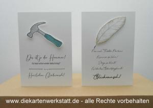 Geburtstag Hammer Feder