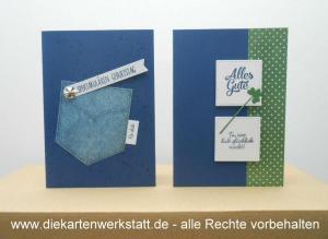 Geburtstag Tasche Kleeblatt