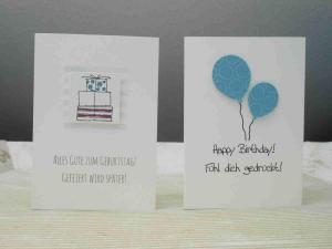 Geburtstagsglückwunschkarte