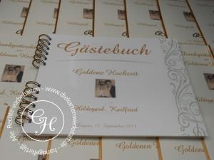 Goldene Hochzeit Gästebuch