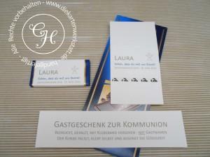 Gastgeschenk Schokoladenverpackung Bausatz