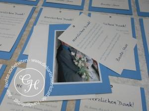 HZ Dank B6 mit Klammer blau