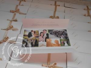 HZ Dank DL mit Schleife Direktdruck Fotos