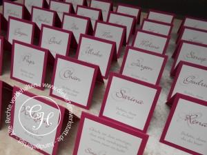 Hochzeitsnamenskarten